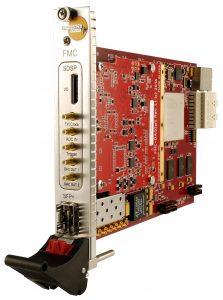 pi827 – PXIe card – 1 ch. ADC & 2 ch. DAC – Fast