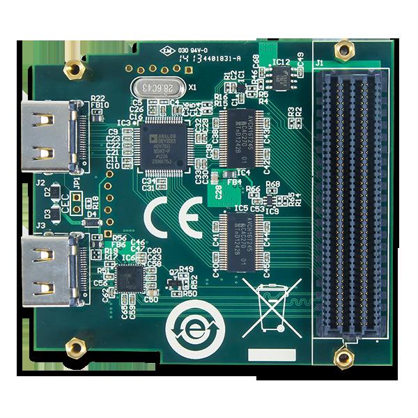 FMC-HDMI: Dual HDMI Input Expansion Card